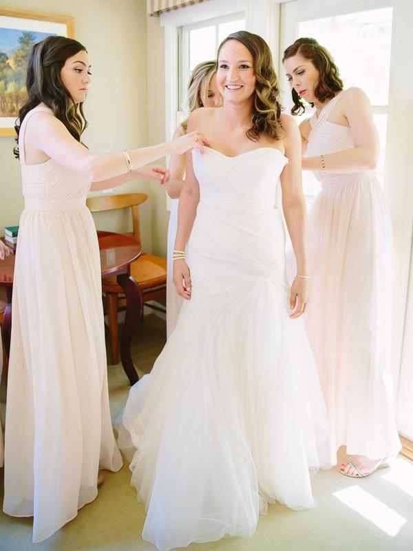 Bernardus Lodge Carmel Wedding
