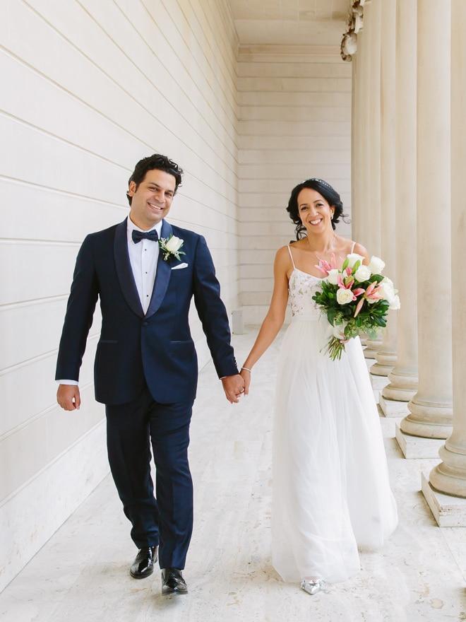 Legion of Honor wedding. San Francisco wedding photographer Lilia Photography