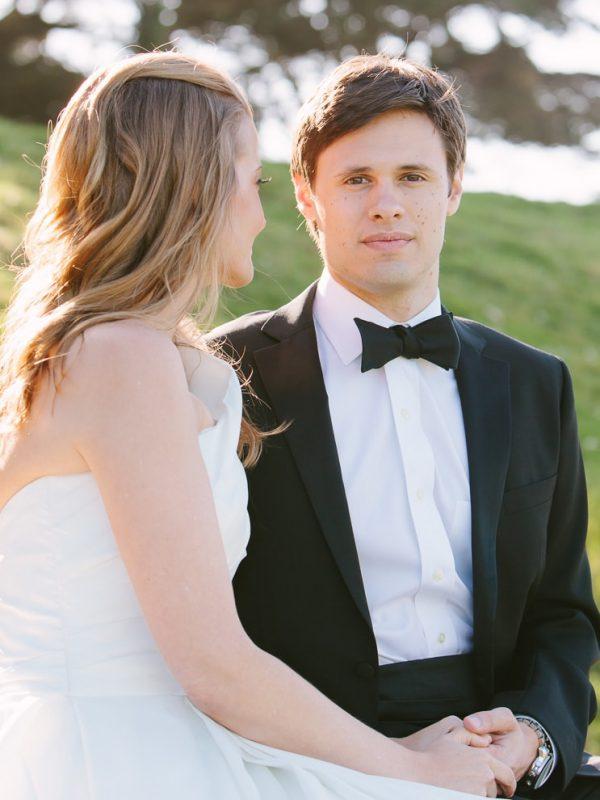 Groom portrait at his San Francisco wedding