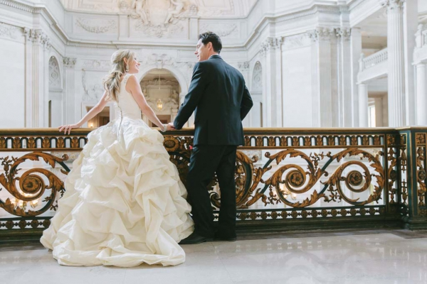 San Francisco City Hall Wedding Photographer Lilia Photography