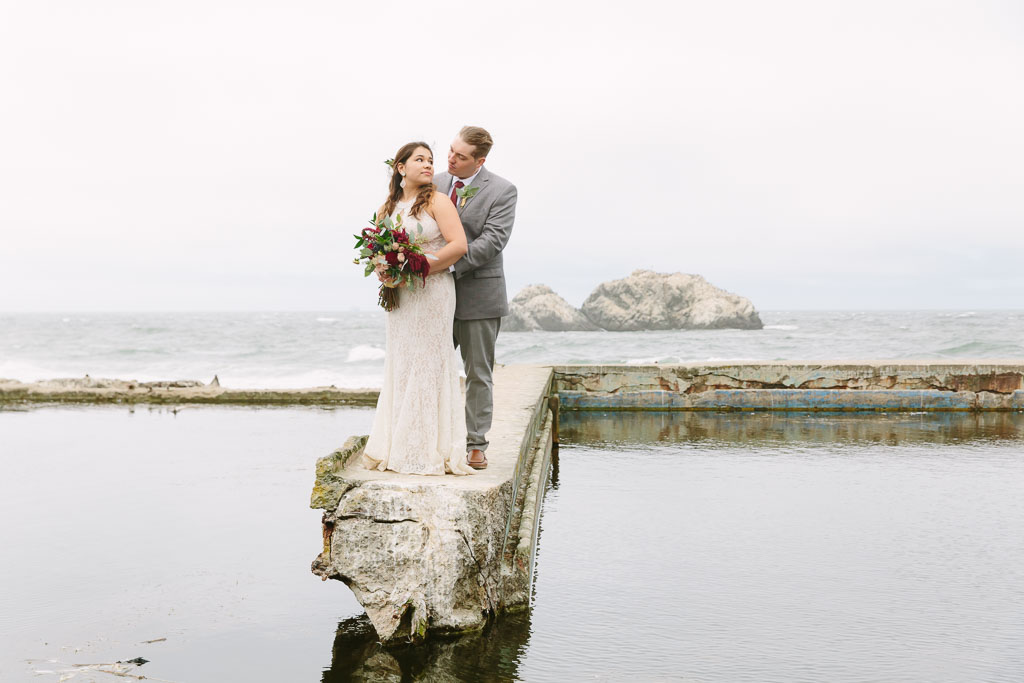 Sutro Baths San Francisco wedding
