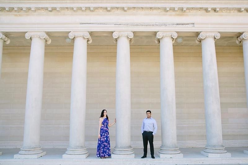 San Francisco Wedding Photographer Legion of Honor Engagement Session