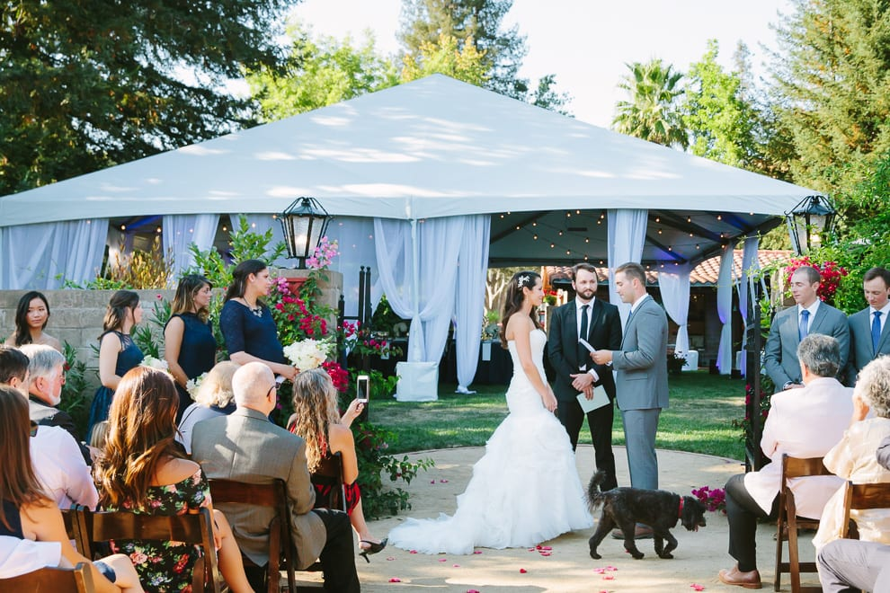 San Francisco Wedding Photographer Private Estate Ceremony